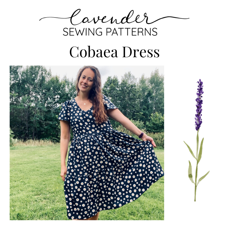 New Pattern: Cobaea Dress